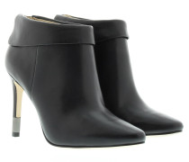 Boots & Booties - Lea Leather Ankle Boot Black