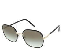 Sonnenbrille 0PR 67XS AAV0A7 Woman Sunglasses Catwalk Black