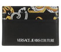 Portemonnaie Men Baroque Card Case Black/Gold
