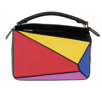 Puzzle Bag Small Multicolor Bowling Bags