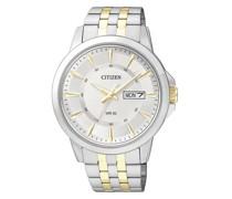 Uhr Sport Wristwatch Bicolor