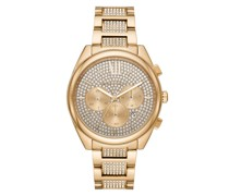 Uhr Janelle Chronograph Stainless Steel Gold