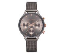 Uhr Watch Everpulse Line Mesh Strap Grey Metallic