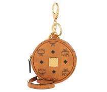 Keychain Charm Tambour Bag Airpod Case Cognac