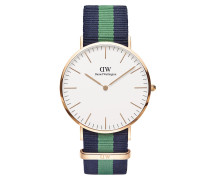 Uhr Classic Warwick Blue Green