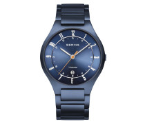 Uhr Watch TitaniumMen Blue