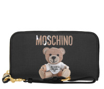 Zip Around Wallet Teddy Fantasia Nero