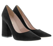 Pumps - Pointed Suede Pumps Black