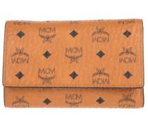 Kleinleder - Color Visetos Three Fold Medium Wallet Cognac