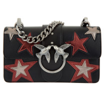 Love Stars Shoulder Bag Mini Black Multi Umhängetasche