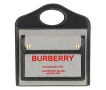 Crossbody Bags Mini Pocket Bag Canvas Leather