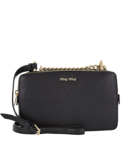 miu miu damen miu miu tasche bandoliera madras crossbody black in schwarz umh ngetasche. Black Bedroom Furniture Sets. Home Design Ideas