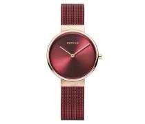 Uhr Watch Classic Women Red