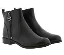 Boots Karsyn Flat Bootie Black