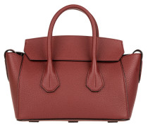 Tasche - Sommet Grained Calf Leather Tote Dark Red
