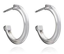 Ohrringe Art Deco Stepped Hoops Earrings