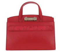 Tote Patent Mini Ruby Red