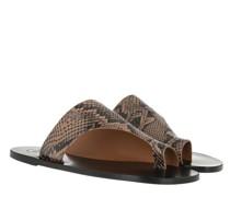 Sandalen & Sandaletten Rosa Printed Snake Sandals