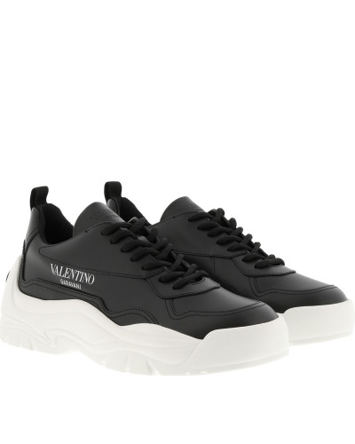 Sneakers Gumboy Sneakers Leather Black schwarz