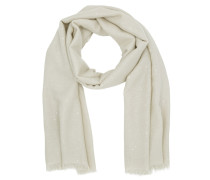 Diamante Scarf Milk Schal