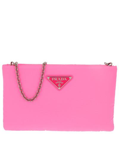 Umhängetasche Clutch Padded Nylon 2 Neon Pink pink