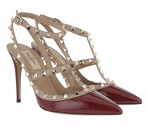 Pumps & High Heels Rockstud Ankle Strap Patent Pump