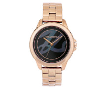 Uhr Karl Signature Diver Bracelet Rose Gold
