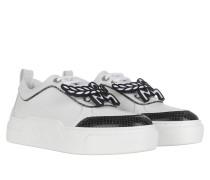 Sneakers LT Skyward Platform Bootie Python White