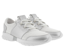 Sneakers Runner Bianco/Silver Sneakerss weiß