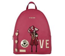 Backpack Love Fuxia Rucksack