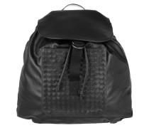 Intrecciato Backpack Nero Rucksack