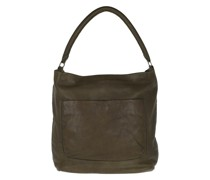Hobo Bag Vegetable Vintage Dark Olive Green