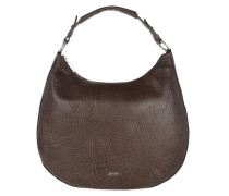 Aja Hobo Small Bubble Dark Brown Bag braun