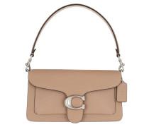 Umhängetasche Polished Pebble Leather Tabby Shoulder Bag 26 Lh/Taupe