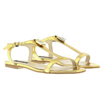 Sandalen - Strap Sandale Metallic Gold