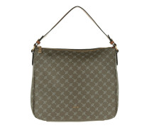 Athina Cortina Hobo Bag Mud braun