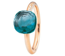 Ring Happy Holi Topas London Blue Cabochon Rosegold