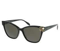 Sonnenbrille AM0269S-001 57 Sunglasses Black-Black-Grey