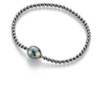 Armband Bracelet Cultured Tahiti Pearls Black Rhodium-Plated