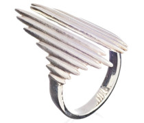 Ring Electric Goddess Adjustable Silver