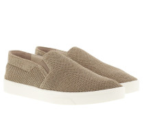 Inca 2 Heathered Knit Slip Ons Cocoon/Gold/White Sneakerss gold