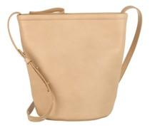Beuteltasche Zip Bucket Bag Leather