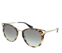 PR 0PR 66TS 54 7S00A7 Sonnenbrille braun