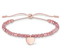 Armband Bracelet Heart Rose