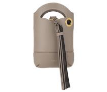Umhängetasche Walden Shoulder Phone Holder Smooth Leather Motty Grey