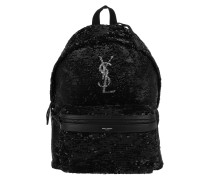City Backpack Nero Argento Rucksack