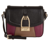 Tasche - La Portena Small Crossbody Bag Black/Taupe/Burgundy