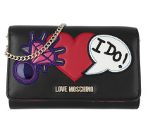 Patches Wallet Nero Portemonnaie