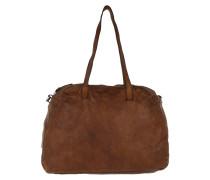 Bowling Bag Cow P/D Cognac Bags