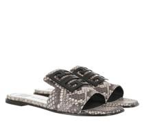 Sandalen 4G Flat Mule Sandals Leather Multi